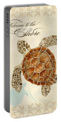Coastal Waterways - Green Sea Turtle Portable Battery Charger
