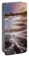 Portable Battery Charger featuring the photograph Coastal Whispers by Darren White
