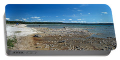 Coastline Of Lake Michigan  Near Petoskey State Park - Little Traverse Bay Portable Battery Charger