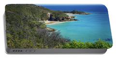 Coastline Views On Moreton Island Portable Battery Charger