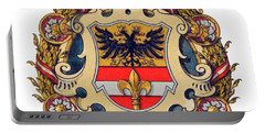 Coat Of Arms Of Triest Portable Battery Charger