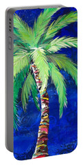 Cobalt Blue Palm II Portable Battery Charger