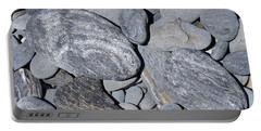 Portable Battery Charger featuring the photograph Cobbles And Pebbles by Phil Banks