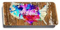 Coca Cola America Portable Battery Charger