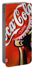 Coca Cola Classic Portable Battery Charger