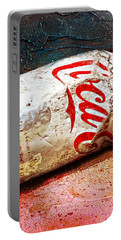 Coca Cola On The Rocks By Mike-hope Portable Battery Charger