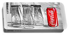 Coca-cola Ready To Drink By Kaye Menner Portable Battery Charger