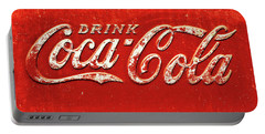 Coca Cola Rustic Portable Battery Charger