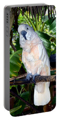 Cockatoo On Perch Portable Battery Charger