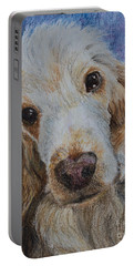 Cocker Spaniel Love Portable Battery Charger