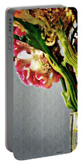 Portable Battery Charger featuring the photograph Cockscomb Bouquet 5 by Sarah Loft