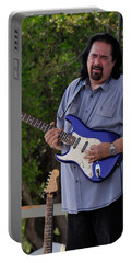 Coco Montoya And His Ocean Blue Fender American Standard Stratoc Portable Battery Charger
