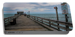 Cocoa Beach  Portable Battery Charger by Pat Cook