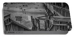 Cocoa Beach Pier Portable Battery Charger by Pat Cook