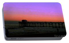 Portable Battery Charger featuring the photograph Cocoa Beach Sunset by Gary Wonning