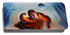 Coconut Octopus Portable Battery Charger