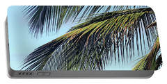 Swaying Palm Branches Portable Battery Charger