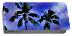 Coconut Palms 1 Portable Battery Charger