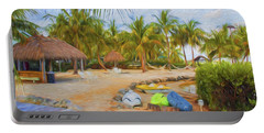 Coconut Palms Inn Beach Portable Battery Charger