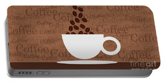 Coffee #3 Portable Battery Charger
