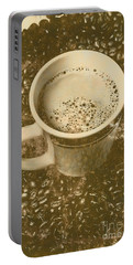 Coffee And Nostalgia Portable Battery Charger