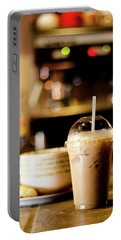 Coffee Bar Atmosphere Portable Battery Charger