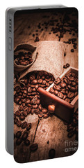 Coffee Bean Art Portable Battery Charger