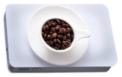 Coffee Beans Portable Battery Charger by Happy Home Artistry