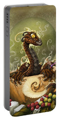 Coffee Dragon Portable Battery Charger by Stanley Morrison