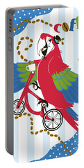 Coffee Parrot Portable Battery Charger