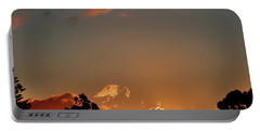Coffee Sunset Portable Battery Charger by Mark Blauhoefer