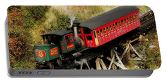 Cog Railway Vintage Portable Battery Charger