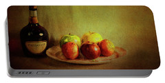 Cognac And Fruits Portable Battery Charger