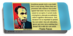 Cognitive Dissonance Frantz Fanon Portable Battery Charger