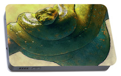 Coiled Portable Battery Charger by Jack Zulli
