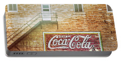 Portable Battery Charger featuring the photograph Coke Classic by Darren White