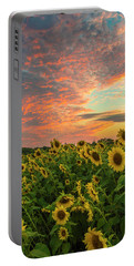Colby Farm Sunflowers Portable Battery Charger