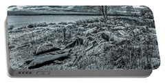 Portable Battery Charger featuring the photograph Cold Autumn Day by Vladimir Kholostykh