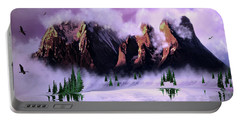 Cold Mountain Morning Portable Battery Charger