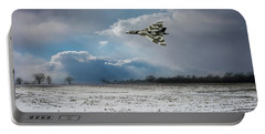 Portable Battery Charger featuring the photograph Cold War Warrior by Gary Eason