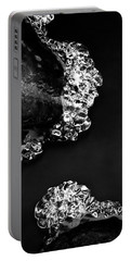 Cold White Diamonds Portable Battery Charger by Darren White