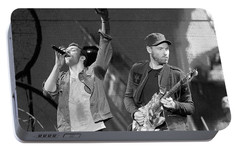 Coldplay 14 Portable Battery Charger by Rafa Rivas