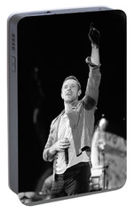 Coldplay 16 Portable Battery Charger by Rafa Rivas