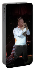 Coldplay At The Metlife New Jersey Portable Battery Charger