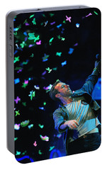 Coldplay1 Portable Battery Charger by Rafa Rivas