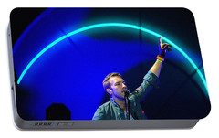 Coldplay3 Portable Battery Charger by Rafa Rivas