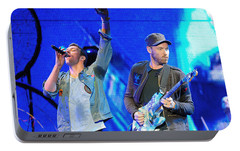 Coldplay6 Portable Battery Charger by Rafa Rivas