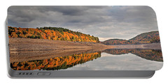 Colebrook Reservoir - In Drought Portable Battery Charger by Tom Cameron