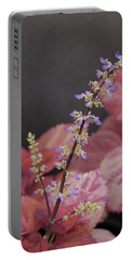 Coleus Blooming Portable Battery Charger by Tim Good