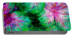Portable Battery Charger featuring the photograph Coleus by Paul Wear
